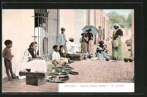 AK Bayamo, Typical Country Market, El mercado, Marktszene