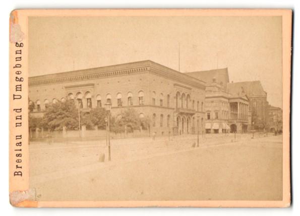Fotografie unbekannter Ort und Fotograf, Ansicht Breslau Gouvernementgebäude