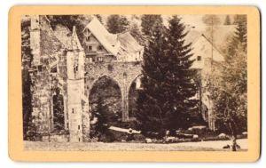 Fotografie unbekannter Fotograf, Ansicht Ruine Allerheiligen, Schwarzwald