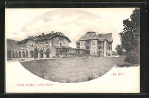 AK Ilidze, Hotel Austria & Bosna
