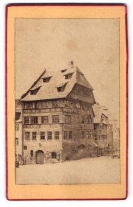Fotografie unbekannter Fotograf, Ansicht Nürnberg, Dürer-Haus