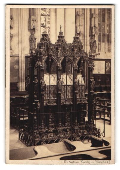 Fotografie Christian König, Nürnberg, Ansicht Nürnberg, Sebaldusgrab