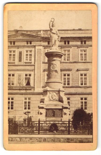 Fotografie unbekannter Fotograf, Ansicht München, Ansicht Kriegerdenkmal