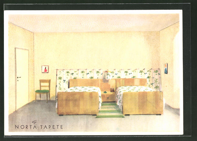 AK Norta Tapete, Schlafzimmer