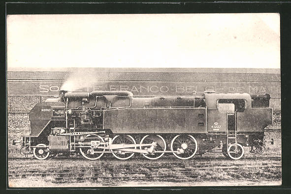 AK Locomotives du Nord, Machine no 4.1227 devenue 141 TC 27, Dampflok