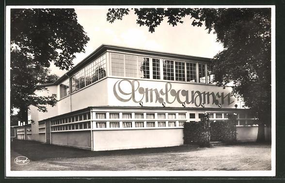 AK Dresden, Jahresschau Der Rote Hahn 1935, Gaststätte