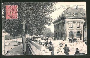 AK Paris, Quai Malaquais