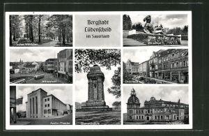 AK Lüdenscheid, Apollo-Theater, Ehrenmal, Schützenhalle