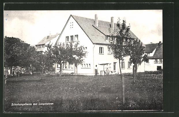 AK Strümpfelbrunn i. Odenwald, Erholungsheim Sockenbacher Hof