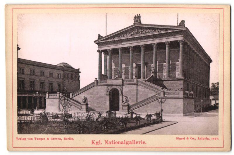 Fotografie Tenger & Greven, Berlin, Ansicht Berlin, Kgl. Nationalgalerie