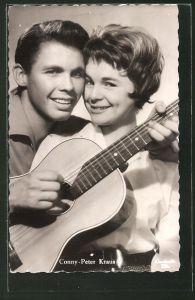 AK Musikerin Conny Froboess und Peter Kraus in