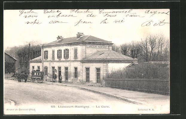 AK Liancourt-Rantigny, la gare