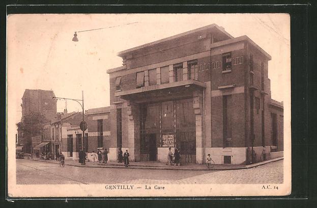 AK Gentilly, la gare