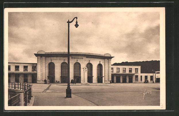 AK Versailles, la nouvelle gare