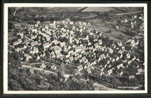 AK Mengeringhausen, Fliegeraufnahme des Ortes