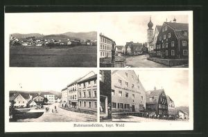 AK Ruhmannsfelden, Gasthaus zur Post, Brauerei Amberger