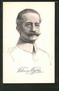 AK Heerführer General der Kavallerie Freiherr von Bissing, General-Gouverneur von Belgien