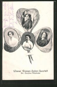 AK Wiener Damen-Salon-Quartett, Dir. Caroline Altenhofer