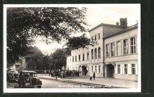 AK Potsdam, Gaststätte und Konzertgarten Alter Fritz, Aussenansicht