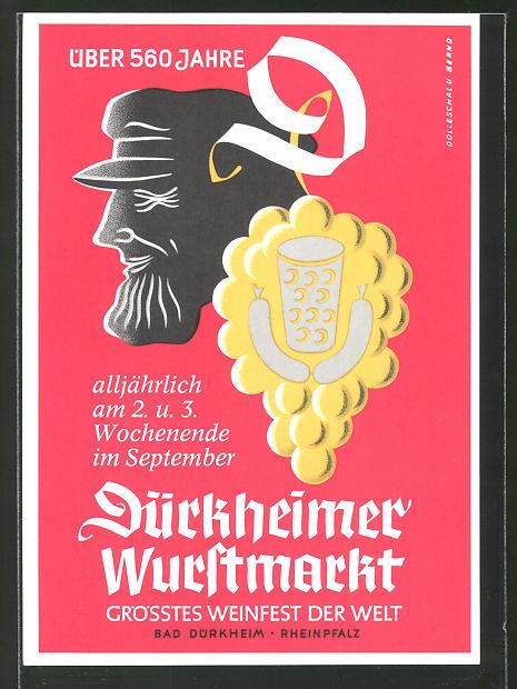 AK Dürkheim, 560 Jahre Dürkheimer Wurstmarkt