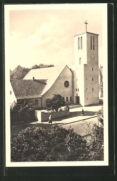 Stil Leipzig ak leipzig trinitatiskirche errichtet im bauhaus stil nr 7717994