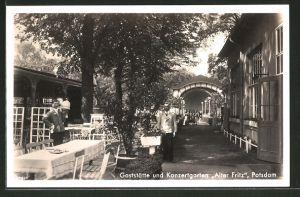 AK Potsdam, Gaststätte und Konzerthaus Alter Fritz