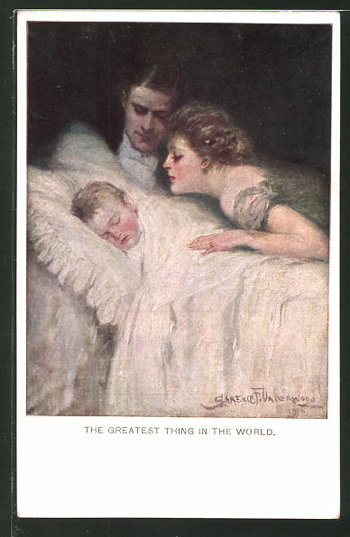 Künstler-AK Clarence F. Underwood: The greatest thing in the world
