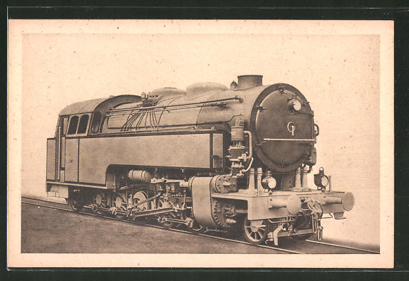 AK A. Borsig, Berlin-Tegel, 1 E 1-Heissdampf-Tenderlok, Halberstadt-Blankenburger Eisenbahngesellschaft