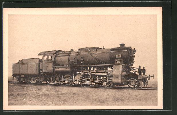AK A. Borsig, Berlin-Tegel, 1 E-Dreizylinder-Heissdampf-Güterzuglok Gattung G12