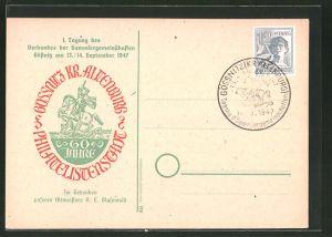 AK Gössnitz, 1. Tagung des Verbandes der Sammlergemeinschaften 1947