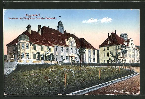AK Deggendorf, Pensionat der Königlichen Ludwigs-Realschule