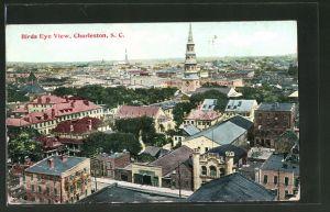 AK Charleston, SC, Teilansicht mit Kirche