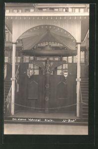AK Kiel, eisernes Wehrmal, U-Boot, Nagelung 0