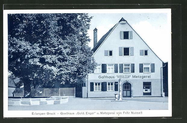AK Erlangen-Bruck, Gasthaus