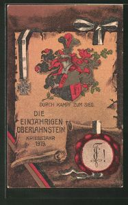 AK Lahnstein, Absolvia der Einjährigen im Kriegsjahr 1919