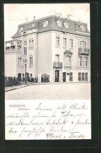 AK Duisburg, Haus in der Erftstrasse 9