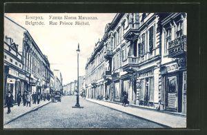 AK Belgrade, Rue Prince Michel