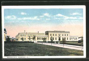 AK Newport, RI, Baracks A.