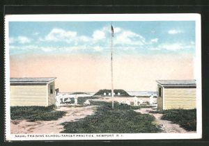 AK Newport, RI, Naval Training School, Target practice