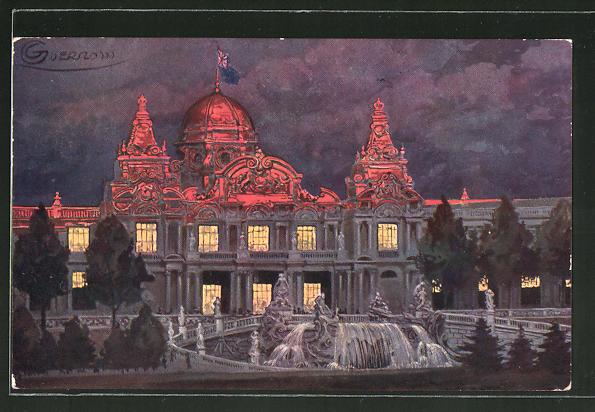 Künstler-AK G. Guerzoni: Torino, Esposizione Internazionale 1911, Padiglione dell'Inghilterra
