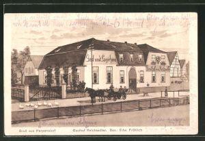 AK Harpersdorf, Gasthaus Reichsadler
