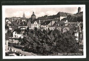 AK Siegen, Teilansicht mit Unterem Schloss