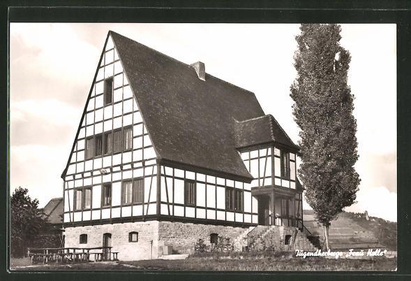 AK Würzburg-Heidingsfeld, Jugendherberge Frau Holle