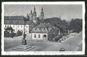 AK Fulda, Bonifacius-Denkmal und Dom