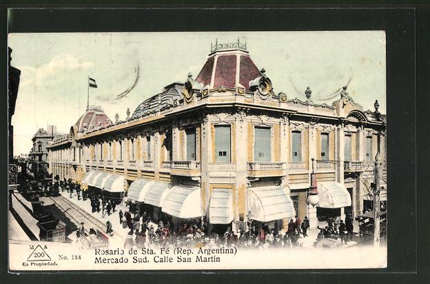 AK Rosario de Santa Fé, Mercado Sud, Calle San Martin