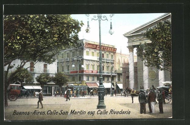 AK Buenos Aires, Calle San Martin esq. Calle Rivadavia