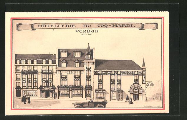 AK Verdun, Hôtellerie du Coq-Hardi