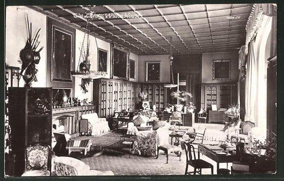 AK Wilton, Wilton House, Library