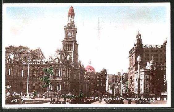 AK Sydney, Town Hall & George Street