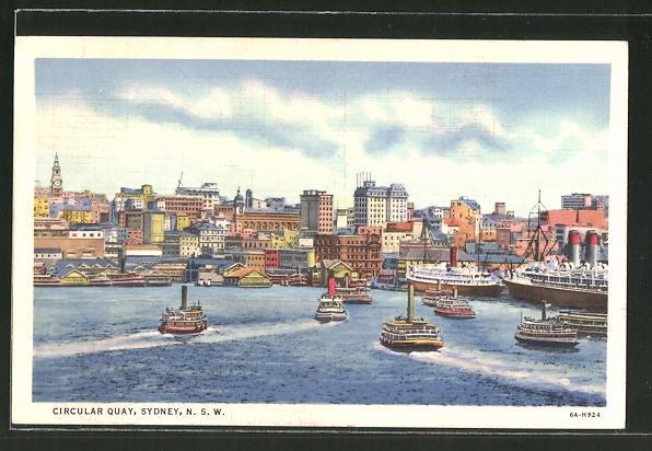 AK Sydney, Circular Quay